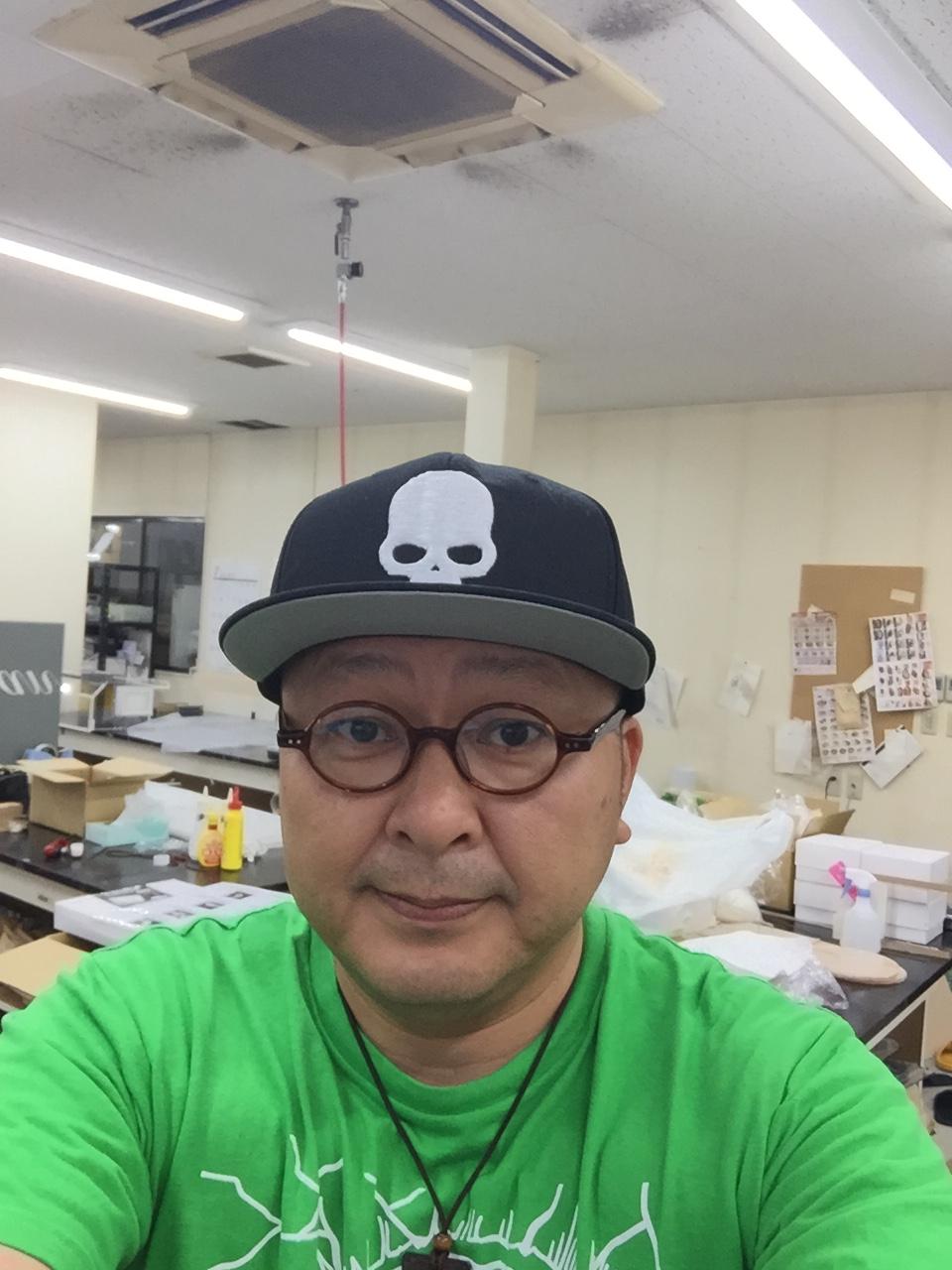 KMPさんにもらった帽子