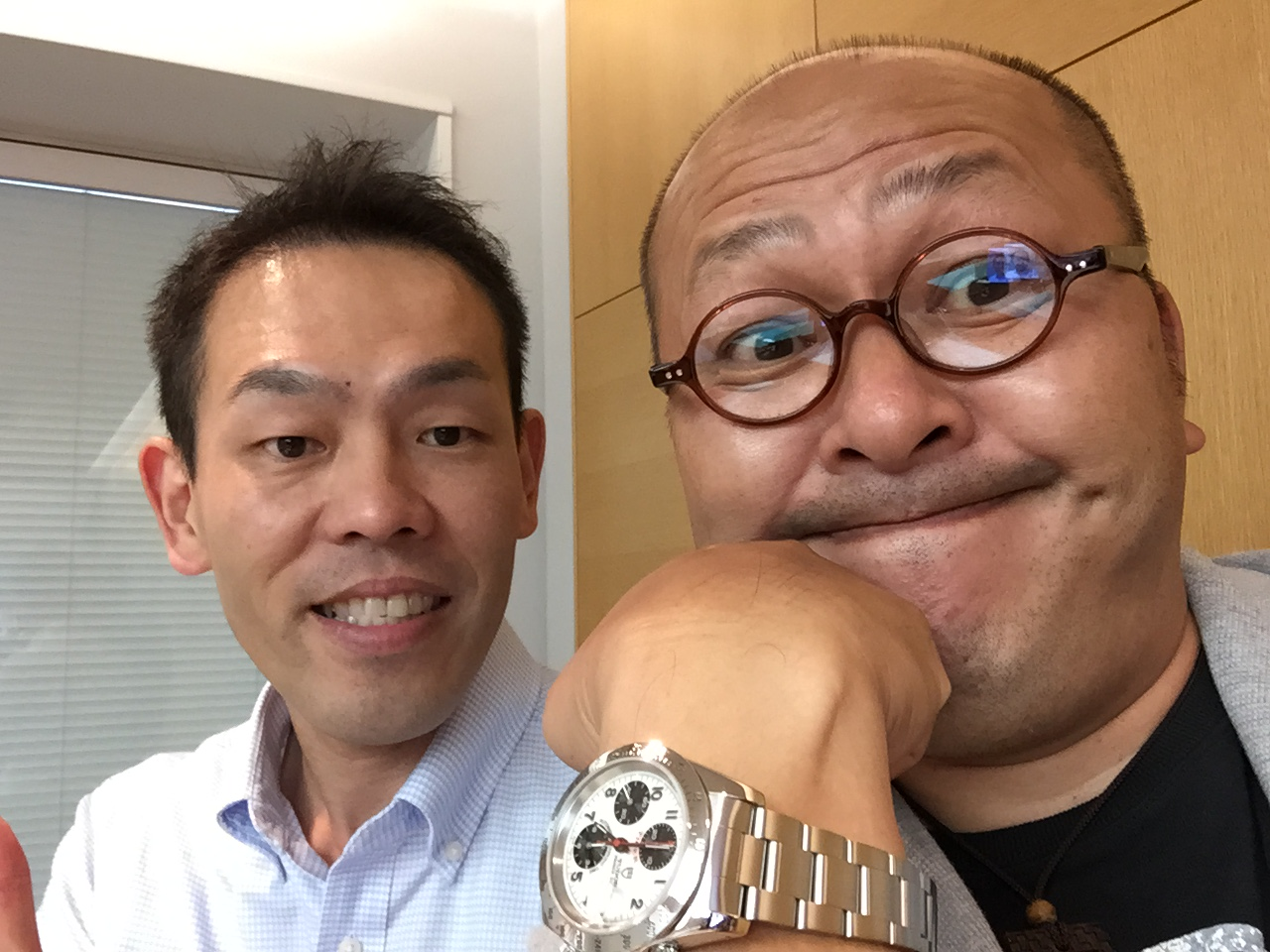 イガヤ時計店の伊賀ちゃんと修理してもらったチュードル