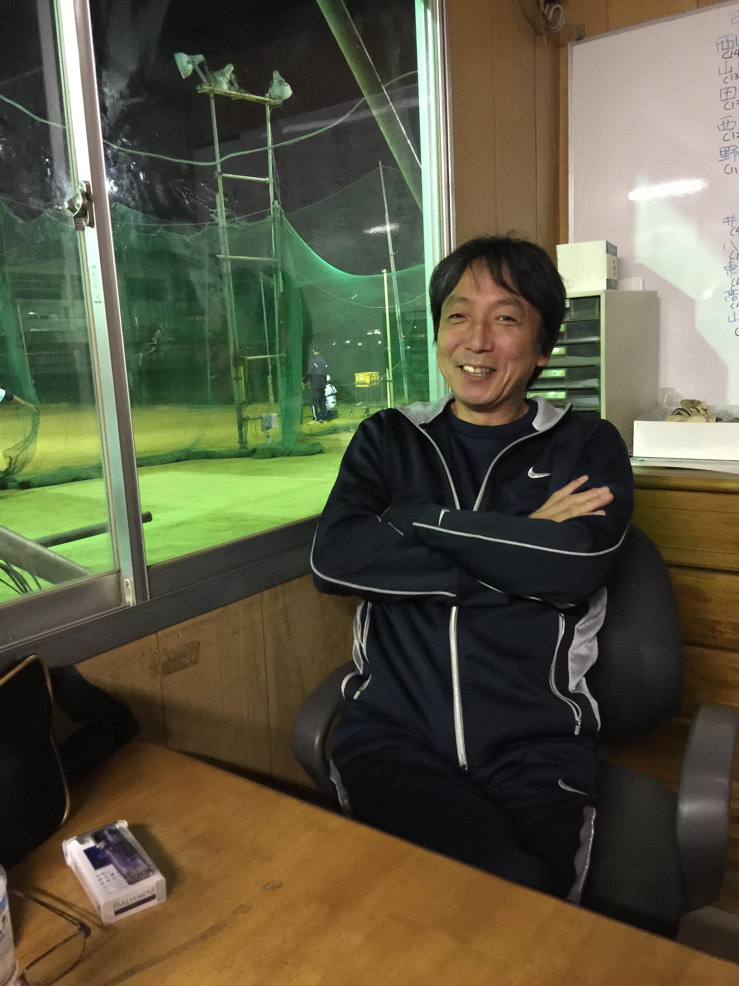 大阪柏原ボーイズ監督 大谷氏